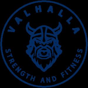 Round Valhalla Strength and Fitness Logo